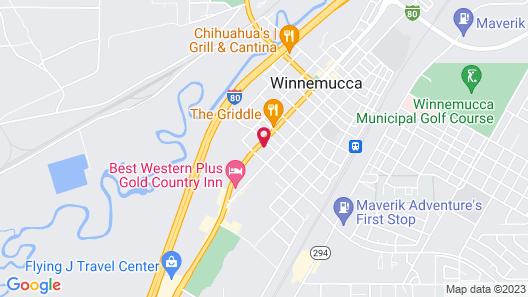 Americas Best Value Inn Winnemucca Map