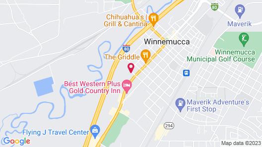 Days Inn by Wyndham Winnemucca Map