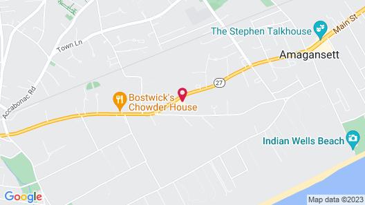 Journey East Hampton Map