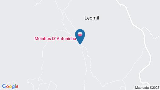 Moinhos da Tia Antoninha Map