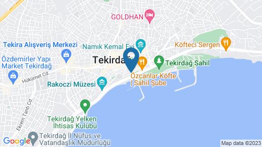 Tekirdag Yat Hotel Map