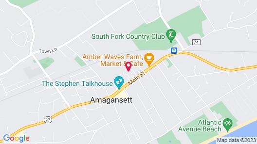 The Roundtree, Amagansett Map