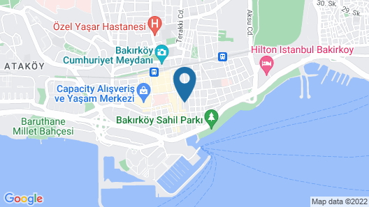 Istanbul Hotel & Suites Map