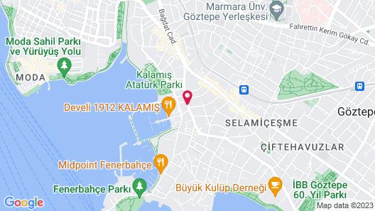 Wyndham Grand Istanbul Kalamis Marina Hotel Map