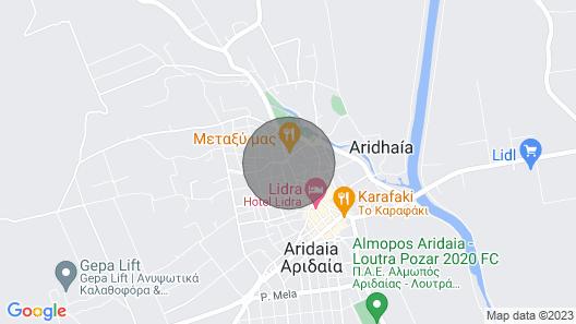 ALEXANDROS APARTMENT ARIDAIA NEAR LOUTRA Pozar ΆΜΑ 6871 Map