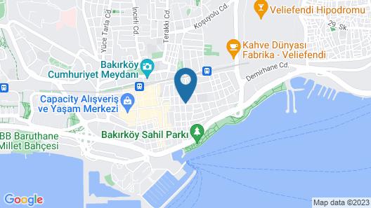 Mercure Istanbul Bakirkoy Map