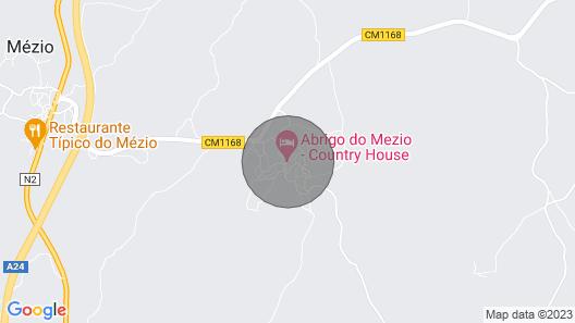 Abrigo do Mezio - Country House Map