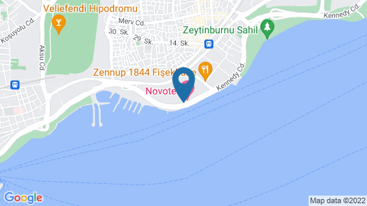 Ibis Istanbul Zeytinburnu Map
