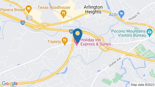 Holiday Inn Express Stroudsburg - Poconos, an IHG Hotel Map