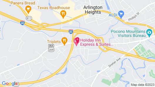 Holiday Inn Express Stroudsburg - Poconos Map
