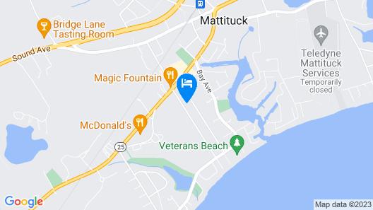 Charming Brand New Beach House Map
