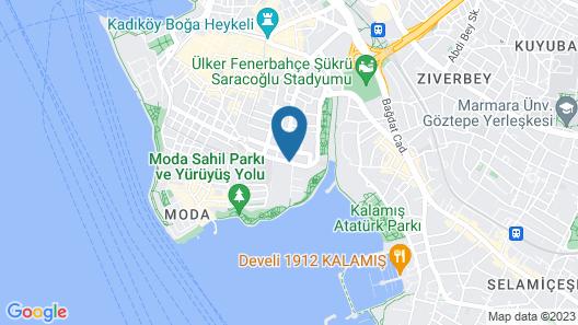 Melek Hotels Moda Map