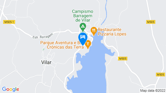 Casa da Barragem Map