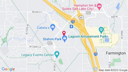Hyatt Place Salt Lake City/Farmington/Station Park Map