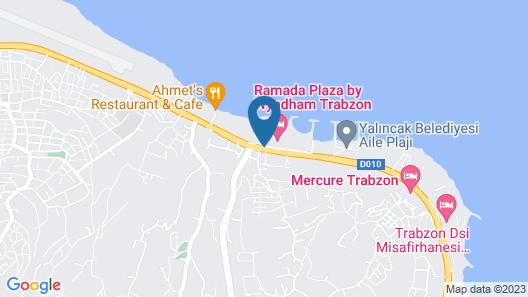 Royal Axis Suites Hotel Trabzon Map