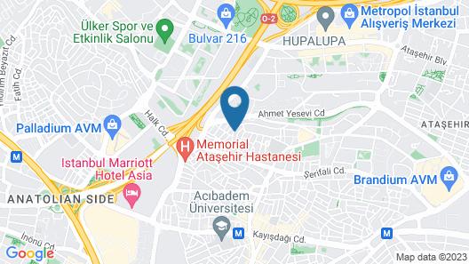 ibis Styles Istanbul Atasehir  Map