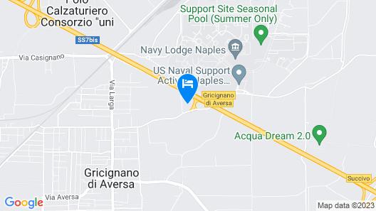 Inn Naples Airport Map
