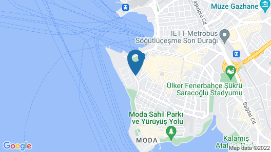 Doubletree by Hilton Istanbul Moda Map
