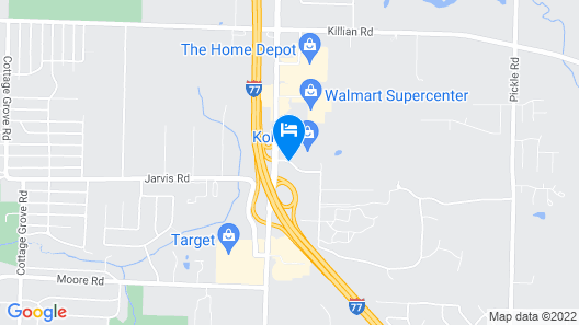 Quality Inn & Conference Center Map