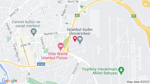 Ramada by Wyndham Istanbul Florya Map
