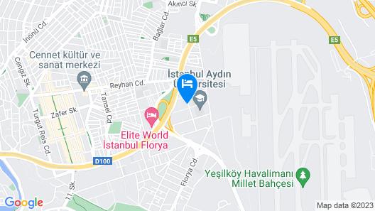 Ramada Encore by Wyndham Istanbul Florya Map