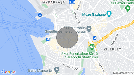 Alt?yol Bo?a, Center of Kad?köy Map