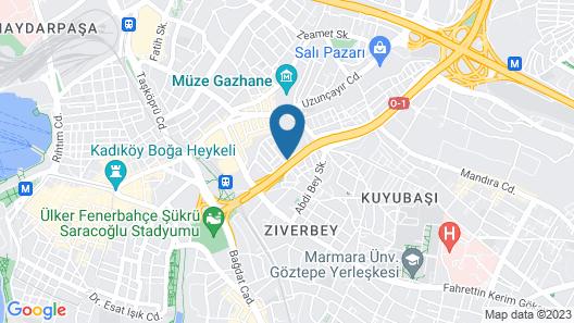 Holiday Inn Istanbul - Kadikoy, an IHG Hotel Map