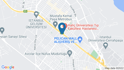 Avcilar Dedem Hotel 2 Map