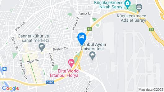 İstanbul Fair Hotel Map