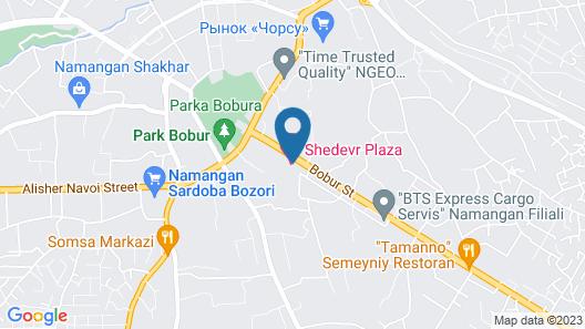 Shedevr Plaza Map
