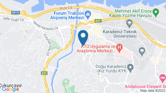 Azra Suite Otel Map