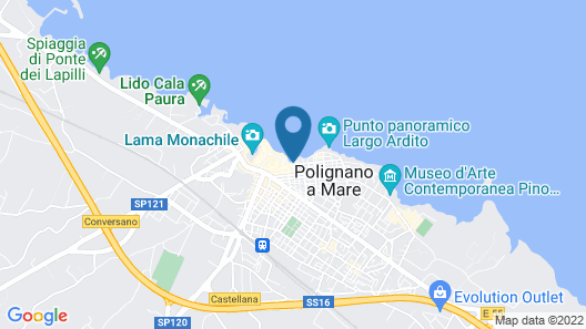 Grotta Palazzese Map