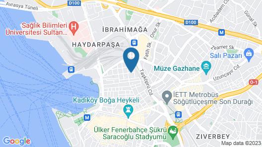Kalkedon Hostel Map