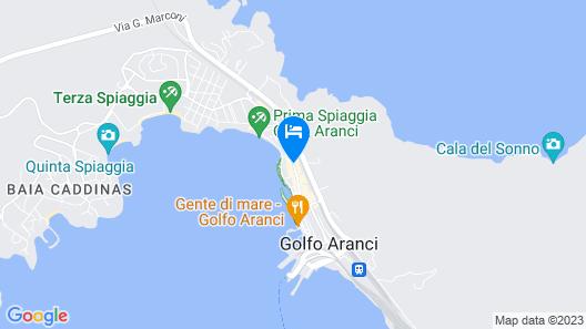 Hotel Villa Margherita Map