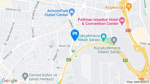 Royal Inci Airport Hotel Map