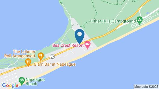 Sea Crest Resort Map
