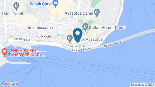 Marmara Konak Old City Map