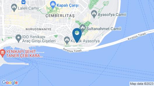 Hotel Amira Istanbul Map