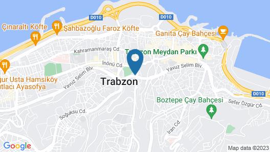 Radisson Blu Hotel Trabzon Map