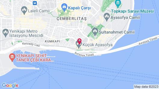 Basileus Hotel Map