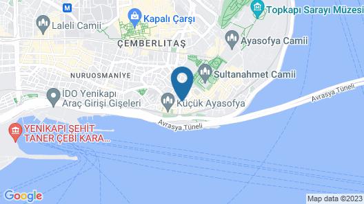 Erguvan Hotel - Special Class Map