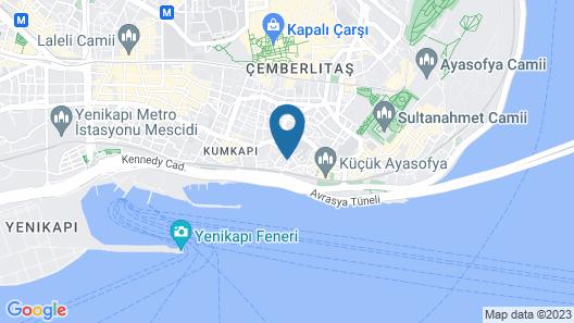 Kupeli Palace Hotel Map