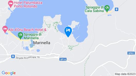 Baia de Bahas Apartments & Resort Map