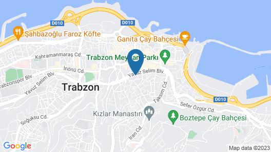 Deryaman Hotel Trabzon Map
