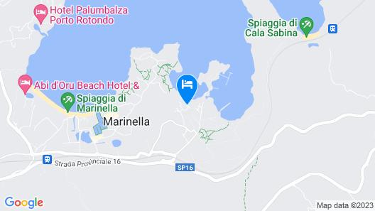 Marineledda Village Map