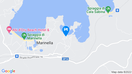 Villaggio MARINELEDDA Map