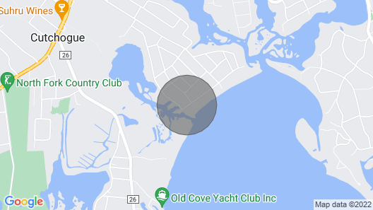 North Fork Beach House Map