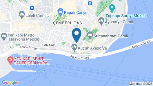 Masal Hotel Map