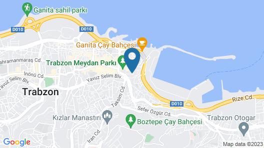 Nur Hotel Map