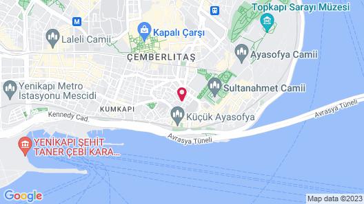 Ada Hotel Istanbul Map